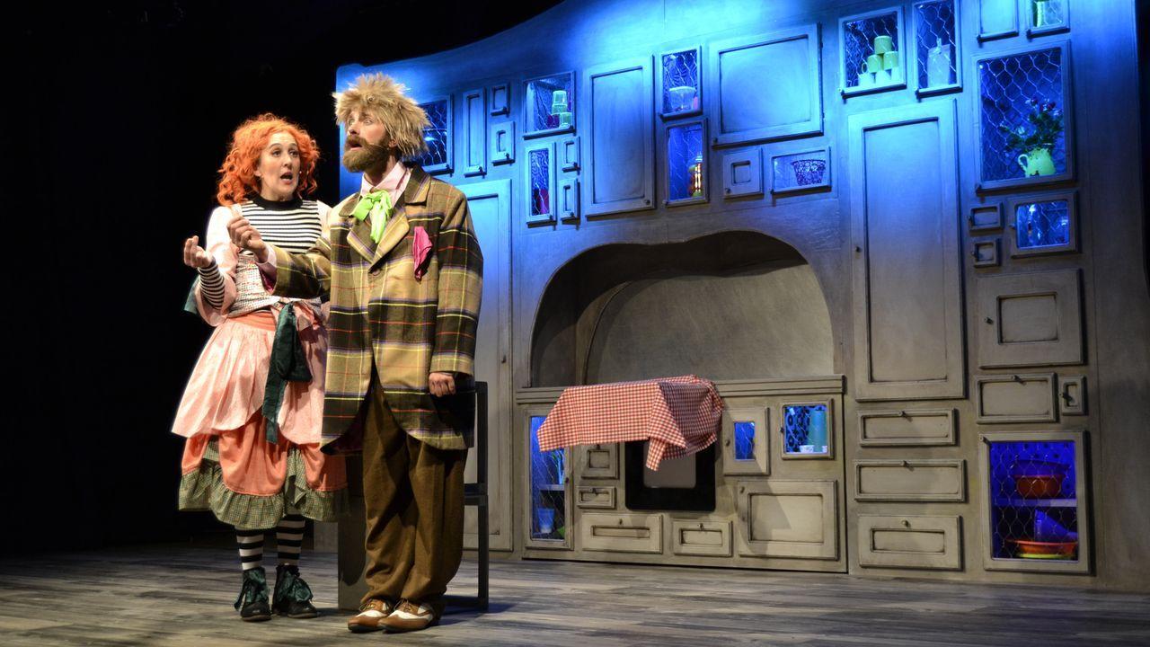Representación de Talía Teatro en Cabana