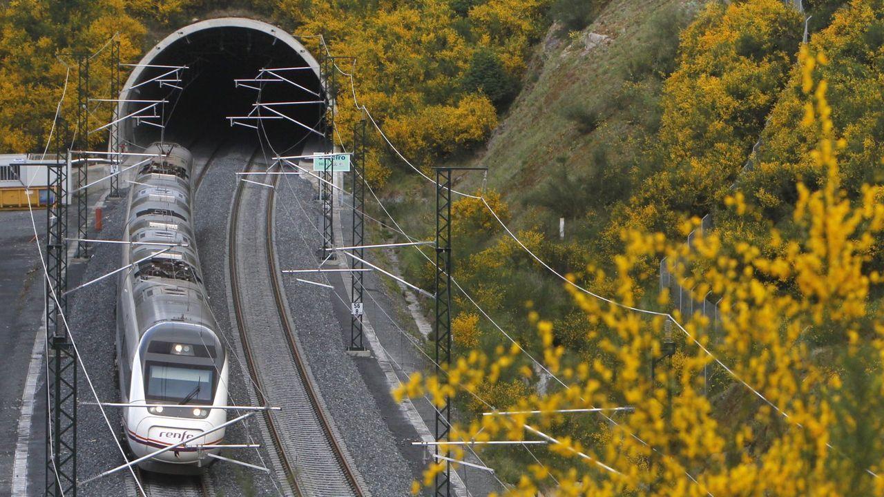 Un túnel del eje atlántico cerca de Vilagarcía