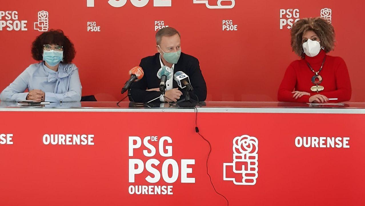 Rueda de prensa del PSOE sobre políticas de igualdad