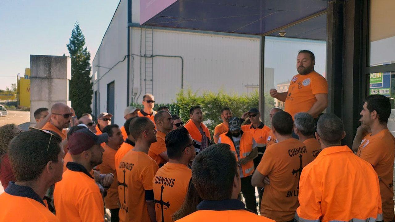 La asamblea de trabajadores de Vesuvius