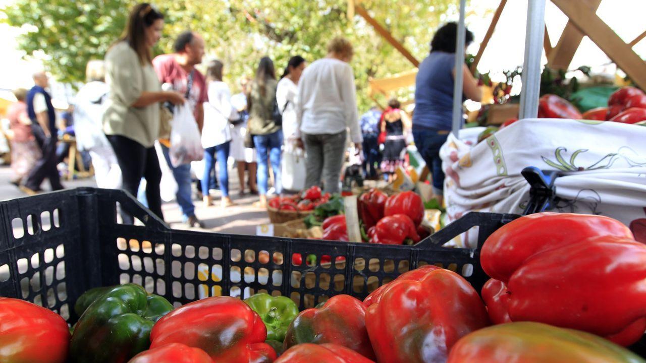 La clausura de las ferias, al igual que la cierre de la hostelería, ha abierto un profundo agujero en la economía de muchos productores
