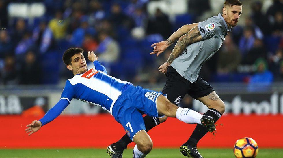 El Deportivo prepara con buen ambiente el enfrentamiento ante el Athletic