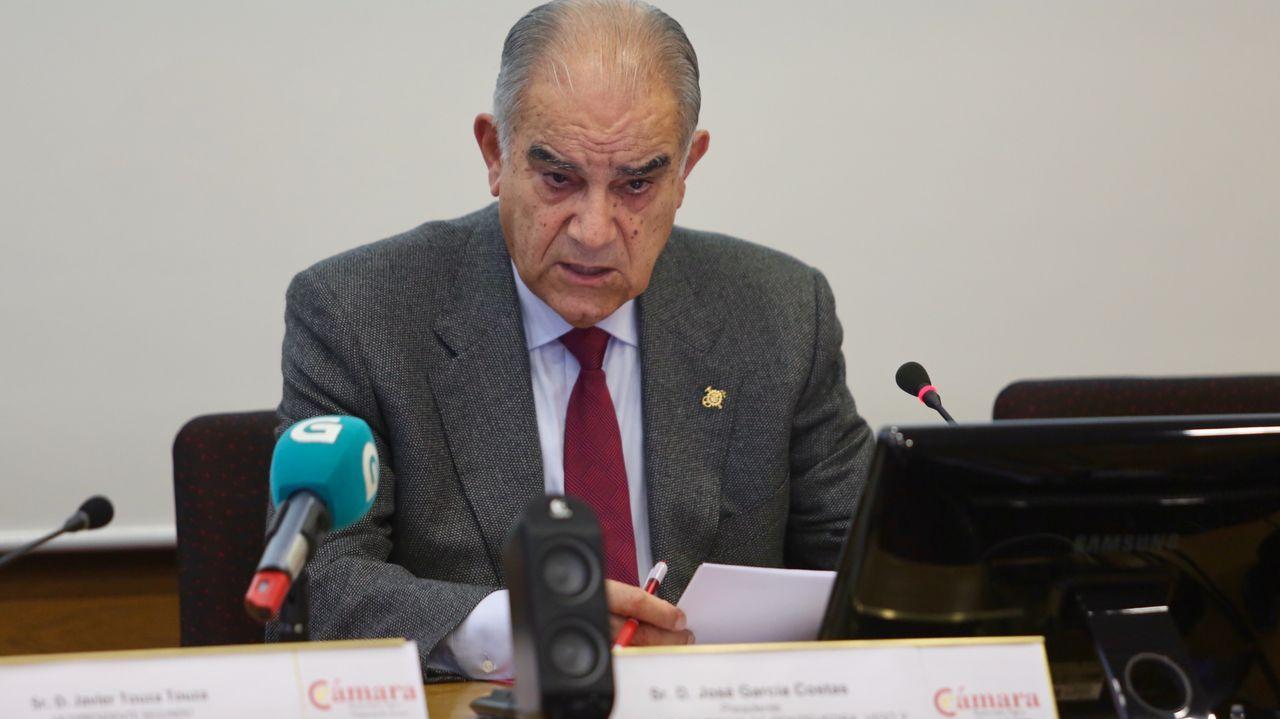 García Costas admite su preocupación por Barreras.El expresidente de Barreras García Costas
