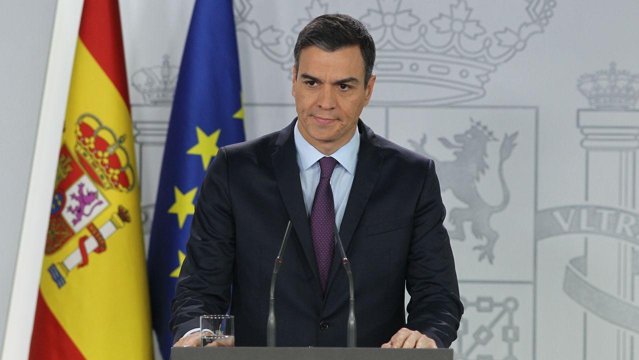 Sánchez anunció el reconocimiento de la legitimidad de Guaidó y reclamó de nuevo elecciones libres y transparentes