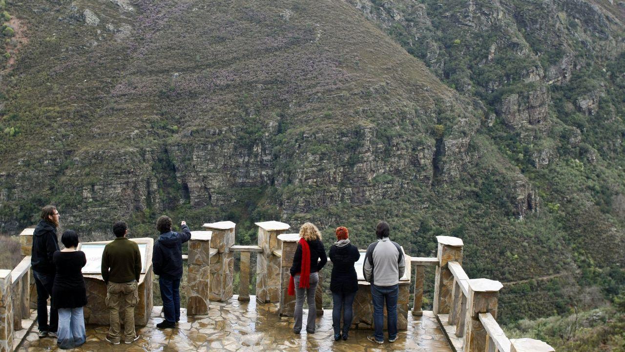 La sierra de O Courel, referente mundial de geoloxía y recientemente declarado Geoparque Mundia