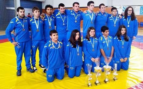 Los deportistas del Keltoi completaron un excelente Campionato Galego en individual y por equipos.