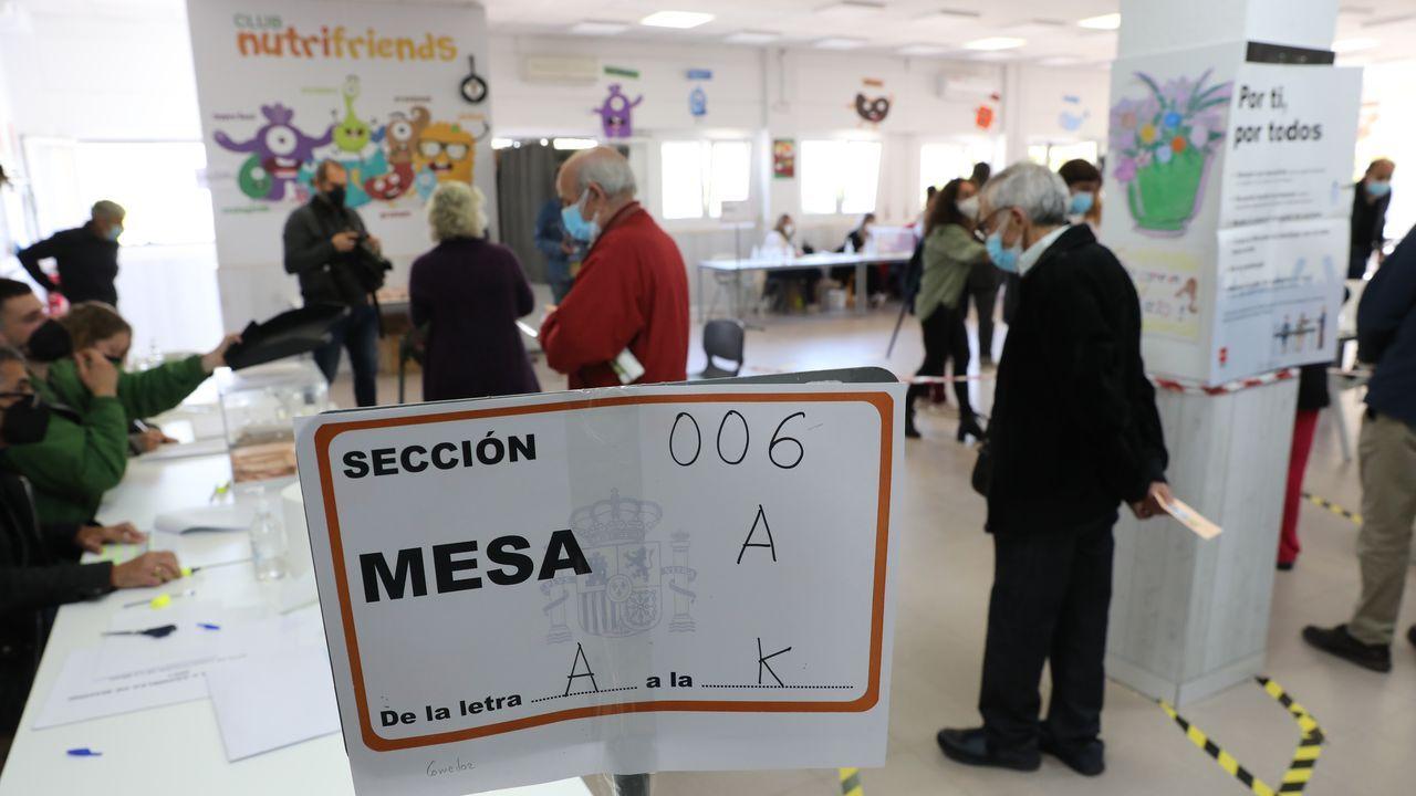 Jornada de votación en Madrid