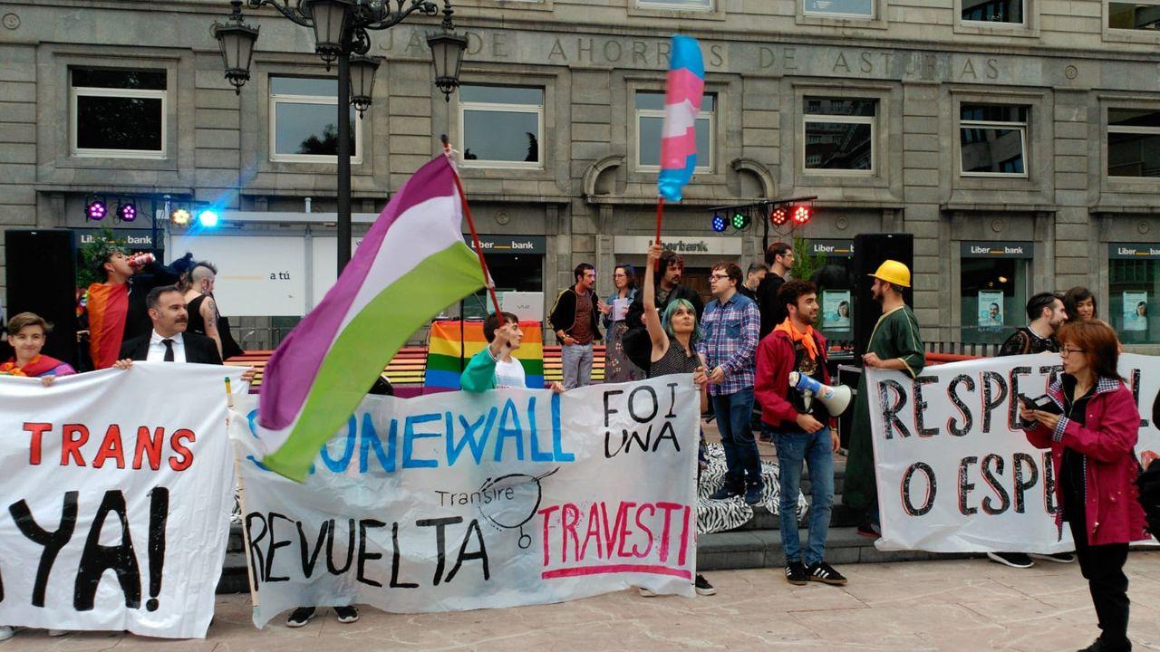 Manifestación por el orgullo LGTBI en Oviedo