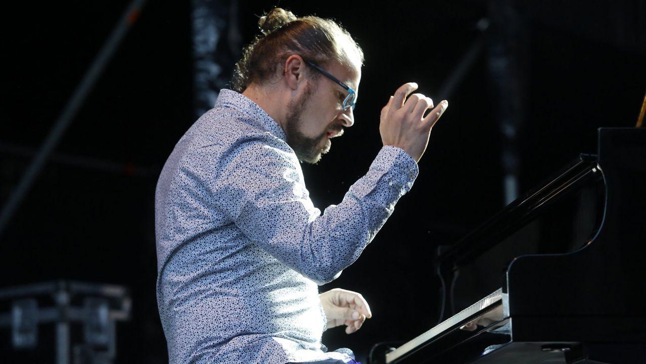 Abe Rábade toca con Pere Navarro en el Clavicémbalo, dentro del Festival de Jazz