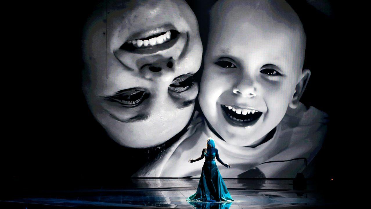 Netta Barzilai, de Israel.Macedonia del Norte, puesta en escena en Eurovisión