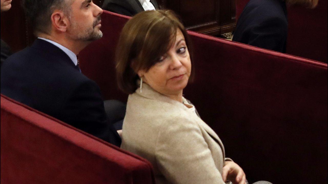 Meritxell Borràs. Exconsejera de Gobernación, está acusada de un delito de desobediencia.