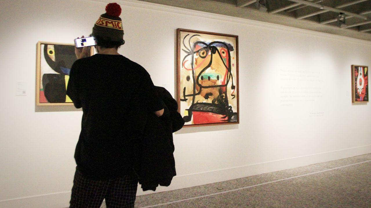 Miro.Joan Punyet Miró, nieto del pintor y escultor Joan Miró