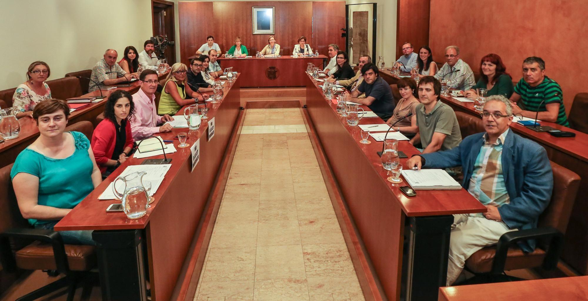 Rajoy y Mercedes Fernández en Gozón
