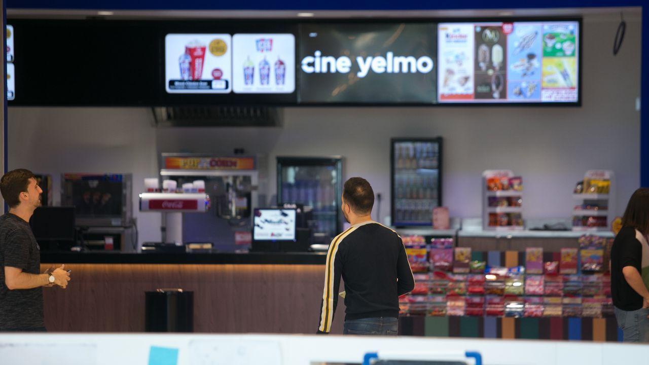 Así son los nuevos cines de As Termas.Pedro Sánchez