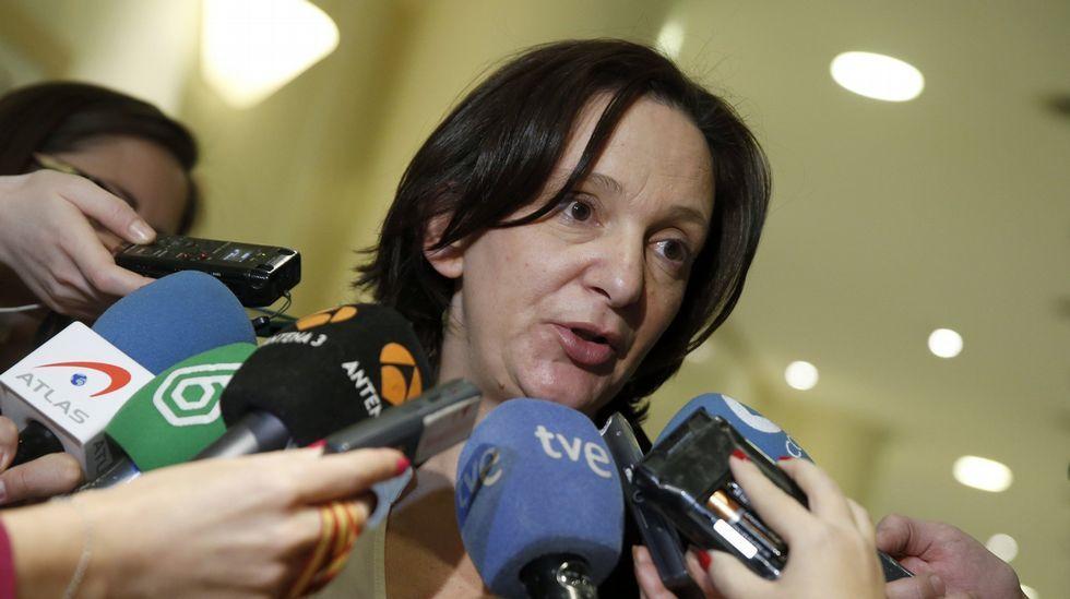 Bescansa reitera las disculpas del partido «a Carvajal y a todos los periodistas».Bescansa, hoy en Cuenca