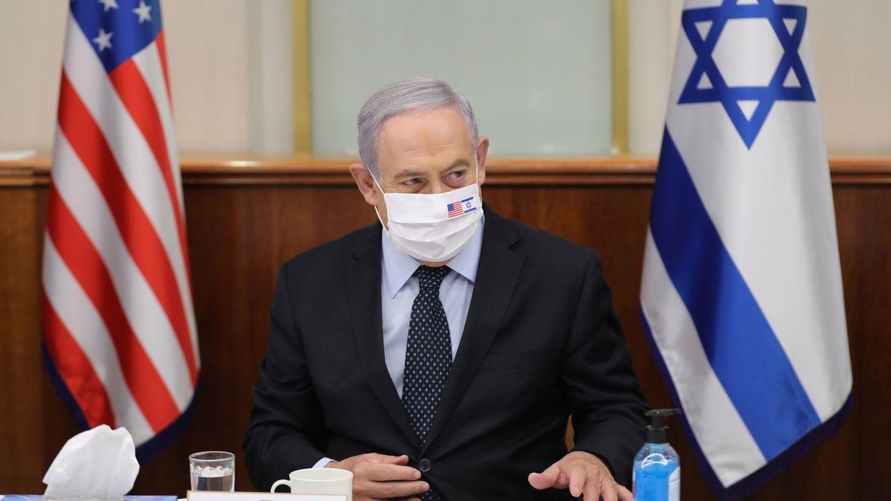 El primer ministro israelí, Benjamin Netanyahu, este martes, en Jerusalén
