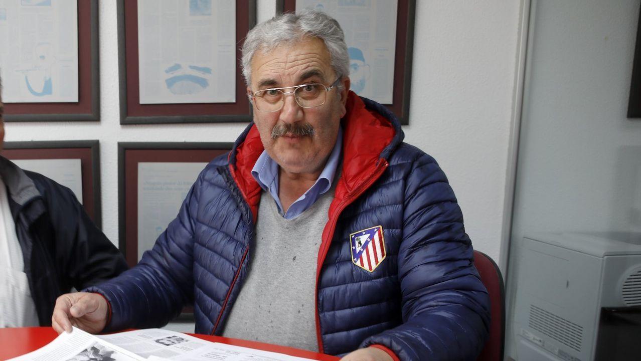 Jesús Vázquez, presidente de la Federación de Asociacións de Veciños de Lugo