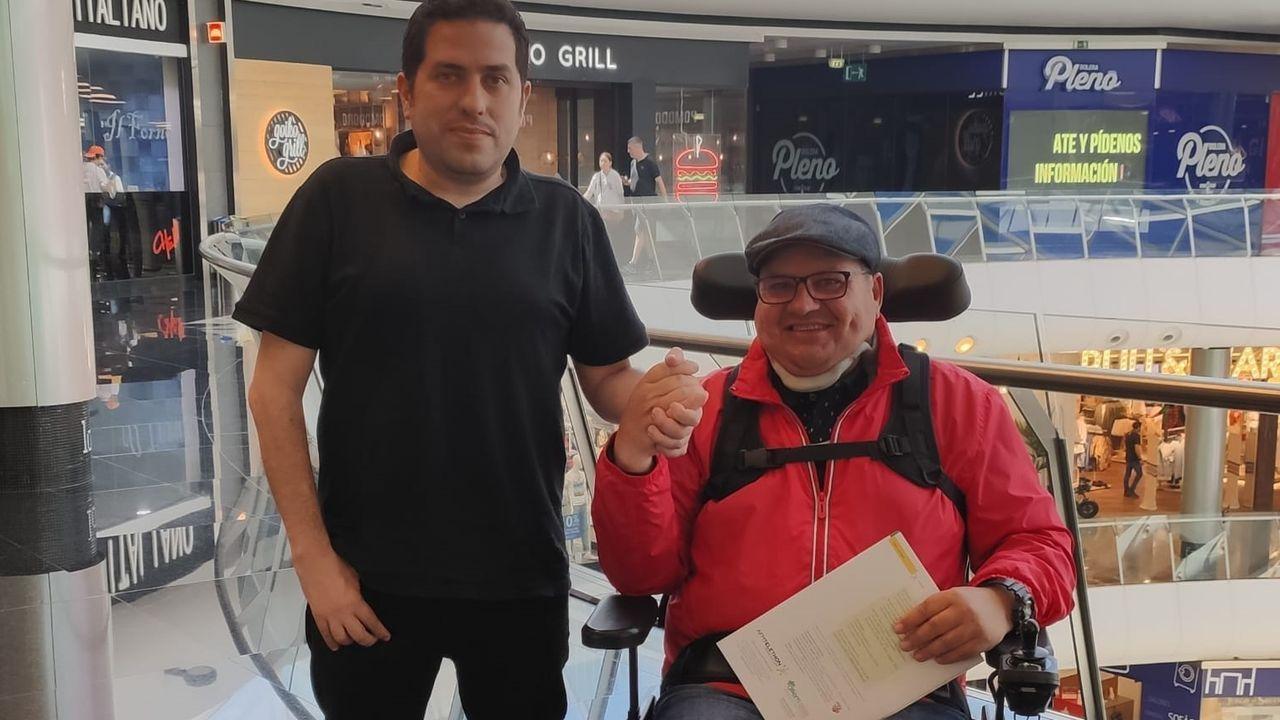 Domingo Presas (derecha) en una imagen de archivo