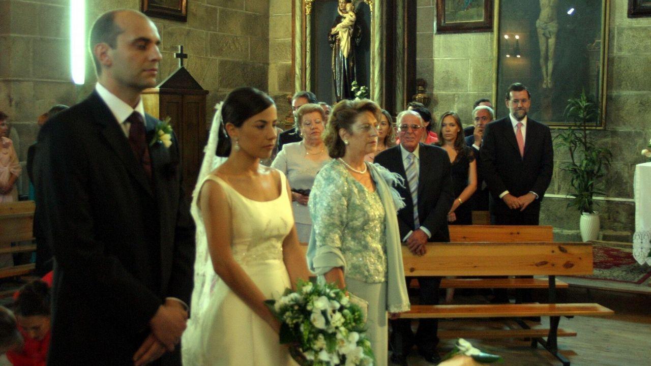 A la boda de Armada y Vázquez en 2005 asistió incluso Mariano Rajoy