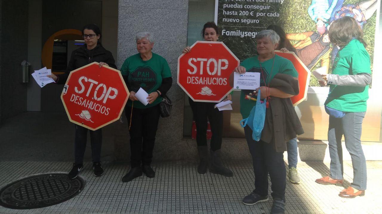 Detenido en Betanzos.Banco Popular