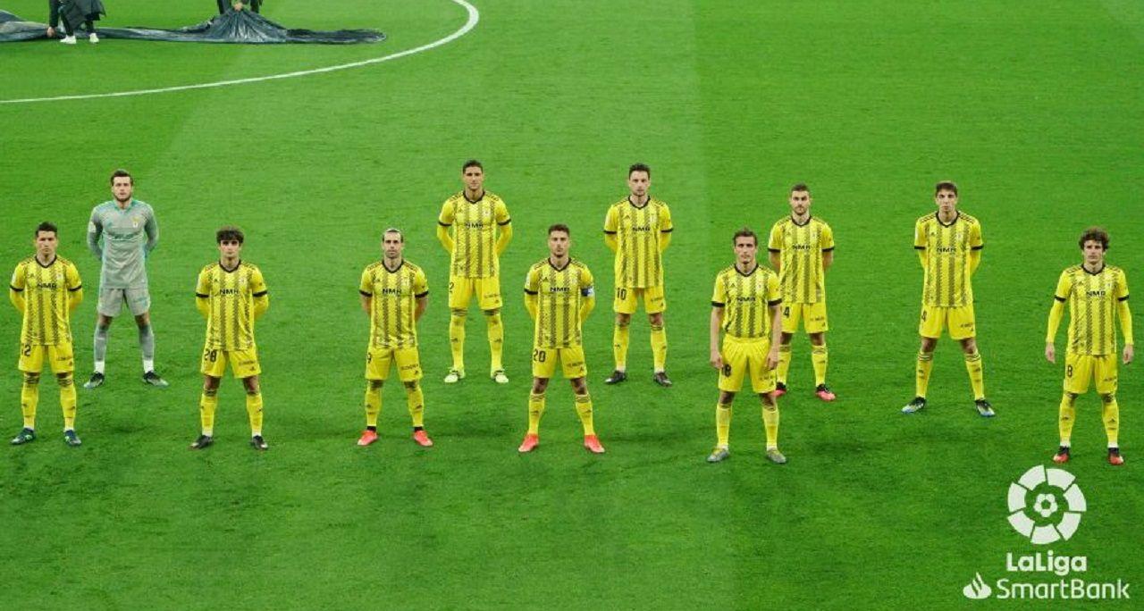 Alineación del Real Oviedo ante el Espanyol