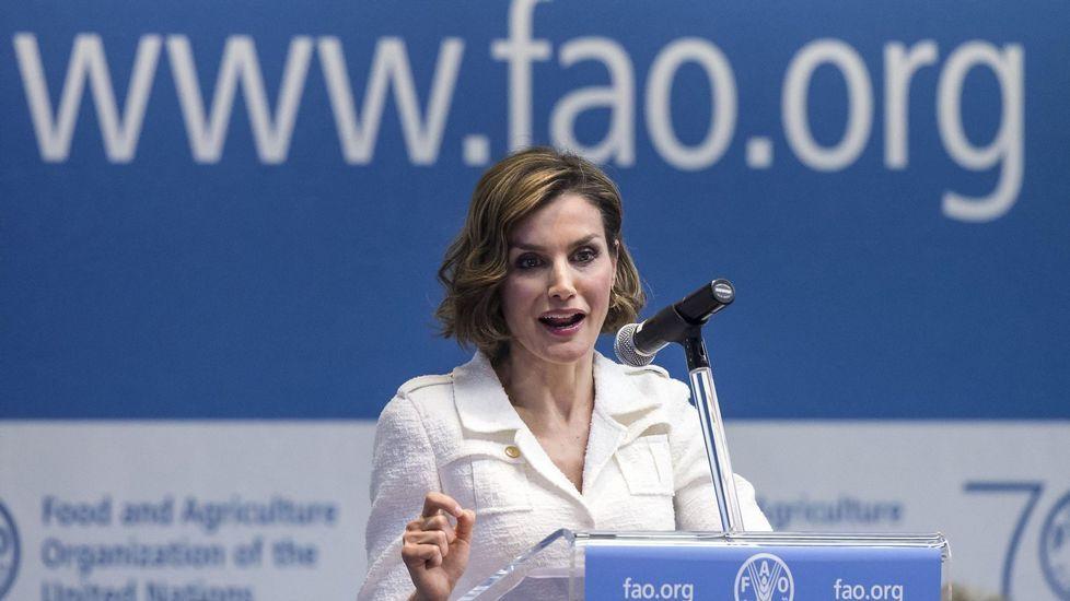 Y lo repitió cuando fue nombrada embajadora de la FAO.