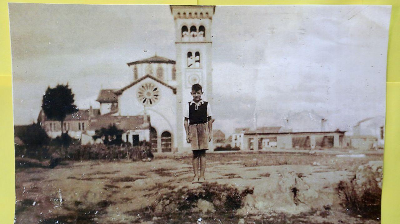 Imágenes histórica del barrio de A Milagrosa