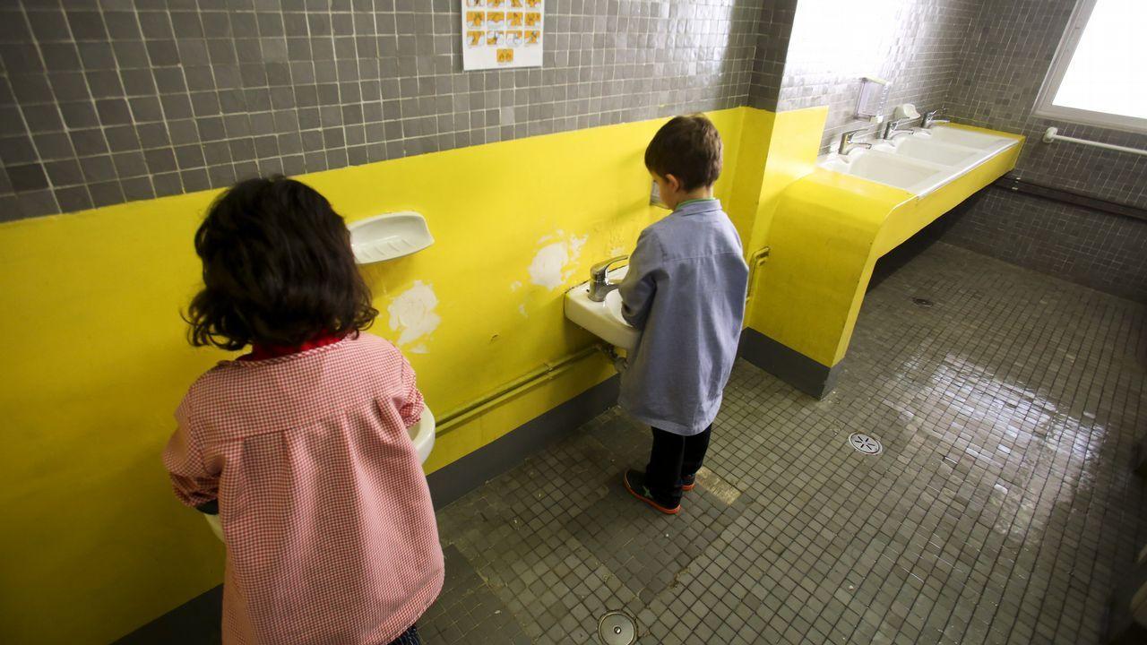 Deficiencias en los colegios de Ferrol
