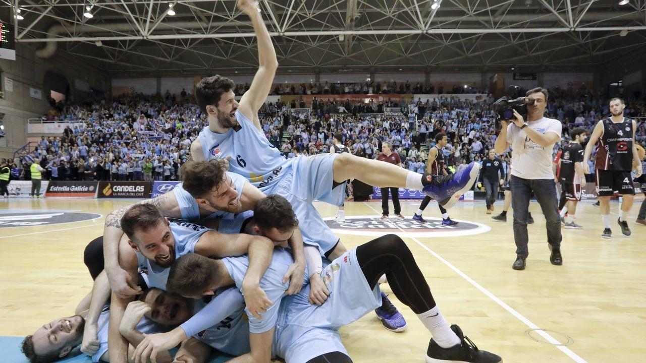 EN DIRECTO: Manresa - Básquet Coruña.El Oviedo Baloncesto gana el segundo partido de la eliminatoria de ascenso