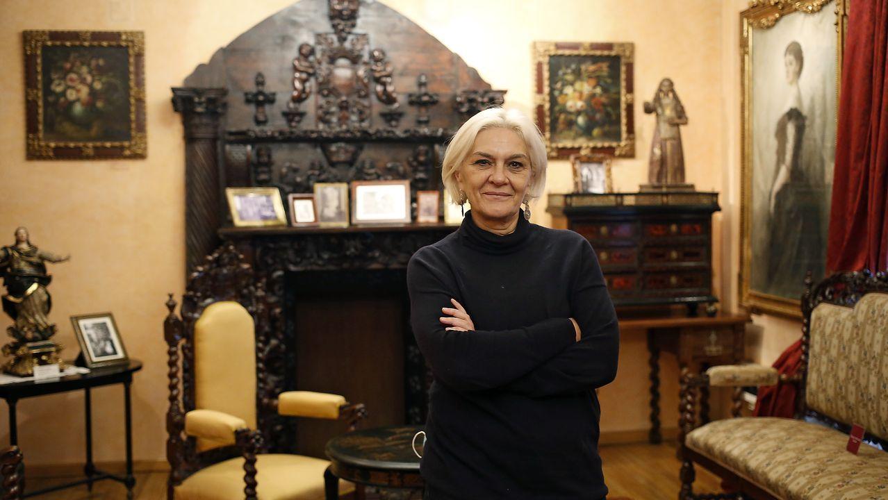 Xulia Santiso es la conservadora de la Casa-Museo Emilia Pardo Bazán.