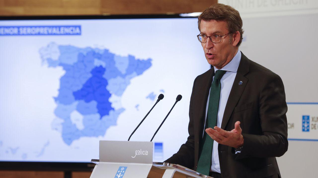 En directo: comparecencia del conselleiro de Sanidade.Cribado en el campos de Lugo