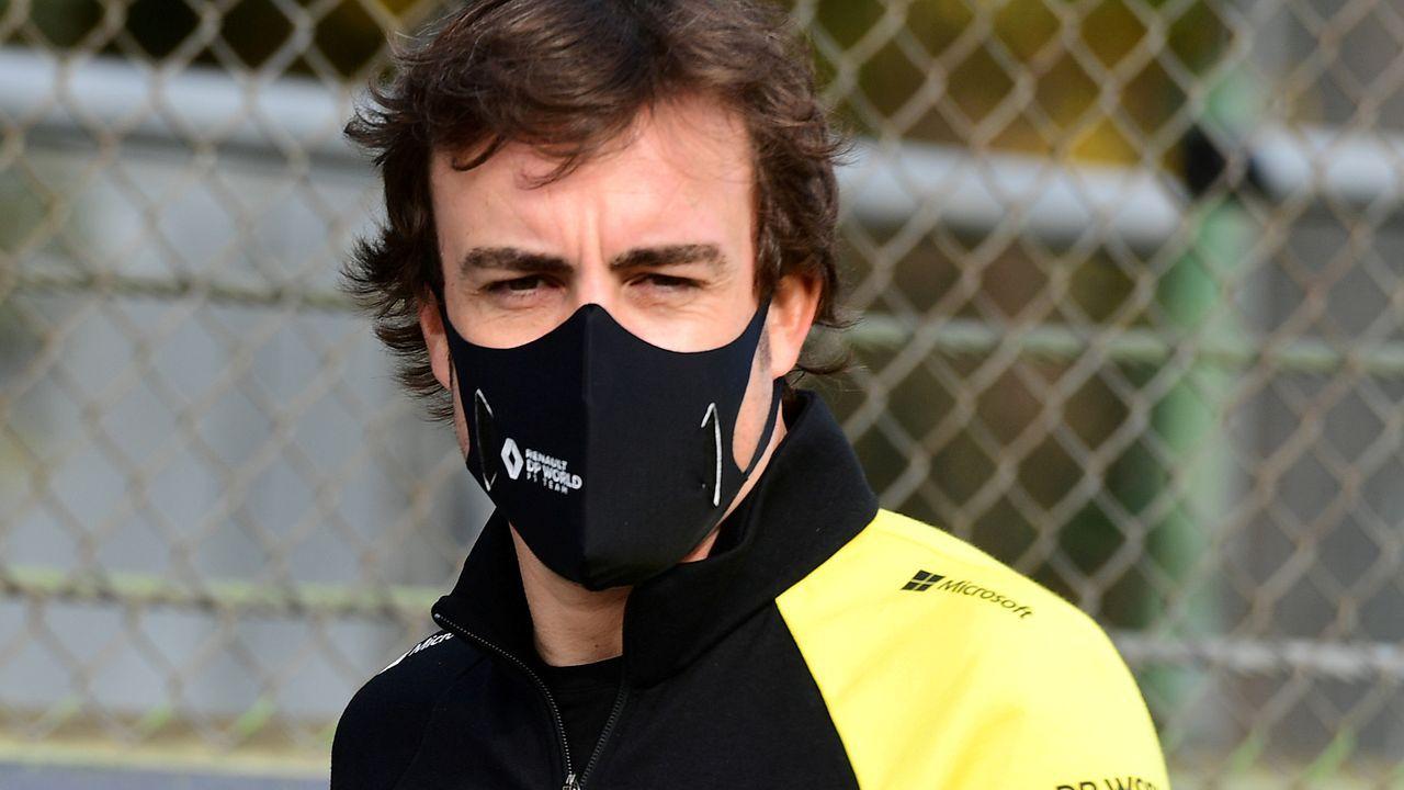 Nuevo casco de Fernando Alonso