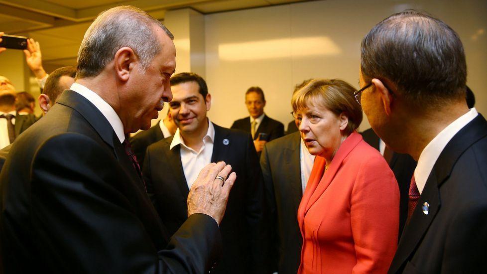 Juzgados por tráfico de drogas.Erdogan y Merkel coincidieron la semana pasada en Estambul en una cumbre sobre derechos humanos.
