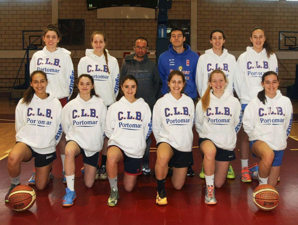 Nacho Rebollo y la base del primer equipo del Cortegada Montse Gilabert dirigen el equipo más destacado del proyecto CLB.