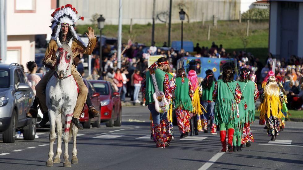 Las fotos del último desfile deestos carnavales.A casa de turismo rural Rectoral de Castillón acollerá a exposición fotográfica