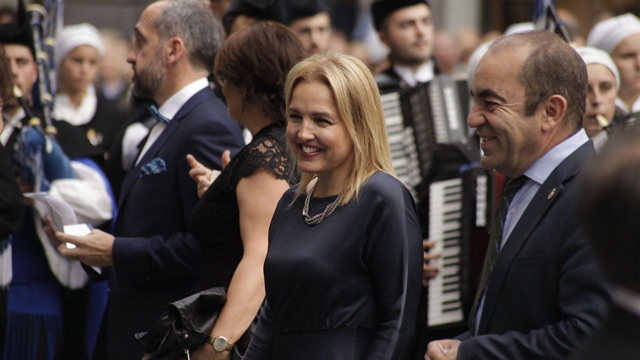 Llegada de los invitados a la ceremonia de los Premios Princesa de Asturias