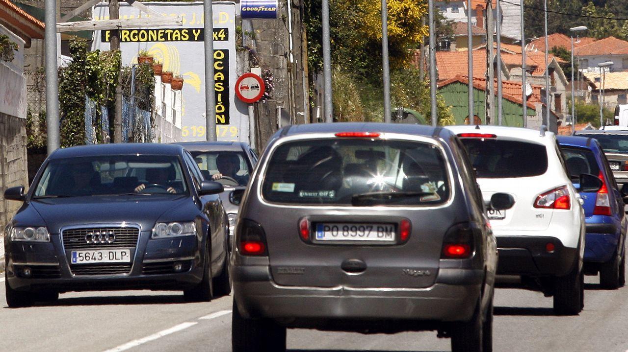 El conductor del coche del accidente de Vigo habría sufrido un desvanecimiento.La avenida Coruña en una foto de archivo