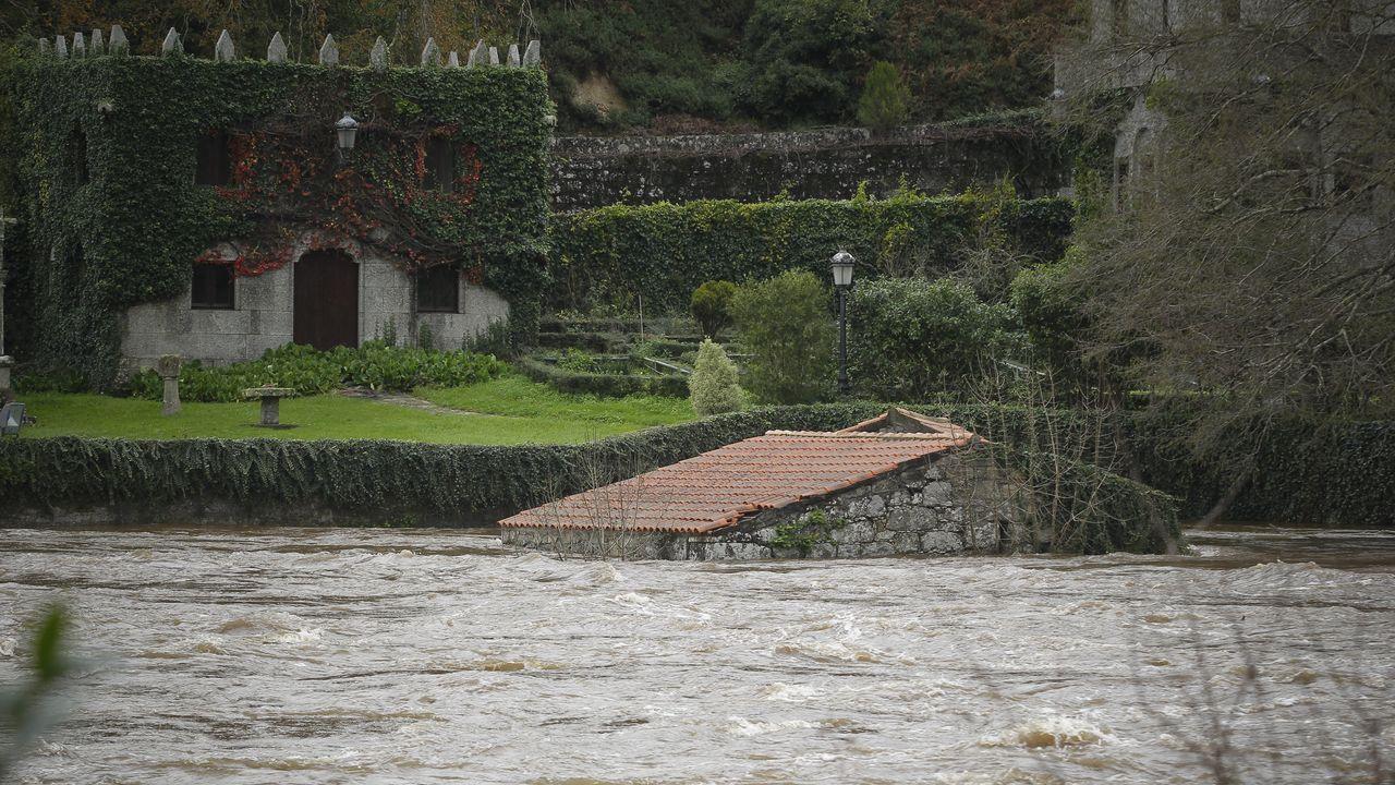 Los estragos de Elsa en Galicia