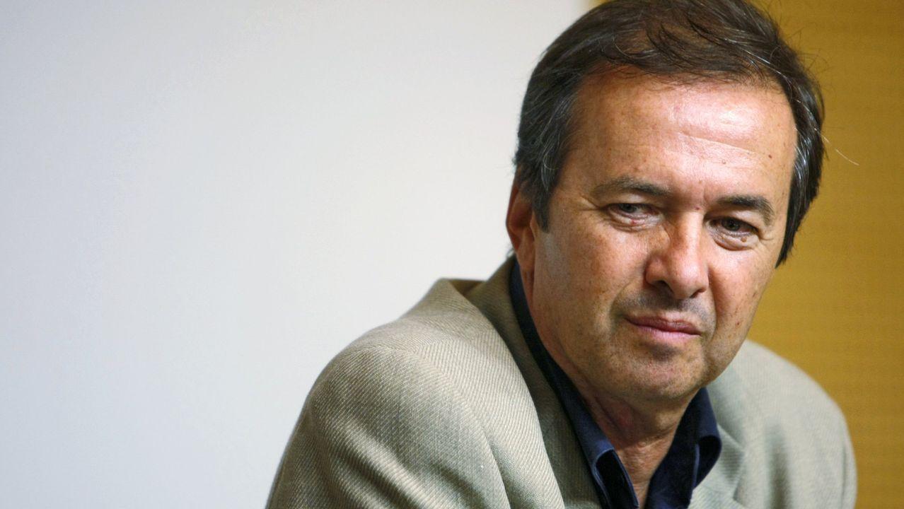 El escritor Javier Moro
