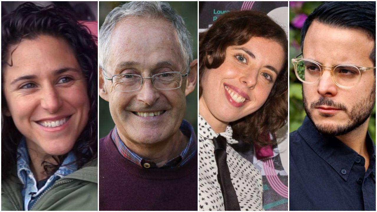berna.Verónica Boquete, Ángel Carracedo, Iria Veiga e Baiuca participan no proxecto «Novas voces para a lingua», para conectar o galego coa mocidade