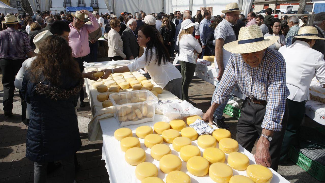 Feria del queso de Friol y del pan de Ousá, que no se ha celebrado este año