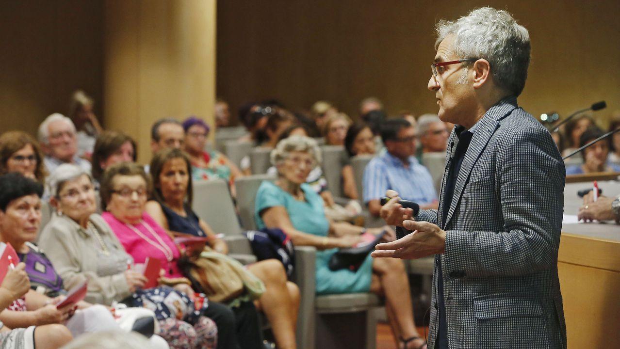 picnic.Ángel Luque, presidente de la Asociación de Fabricantes de Pan de Asturias y responsable de la panadería La Vienesa
