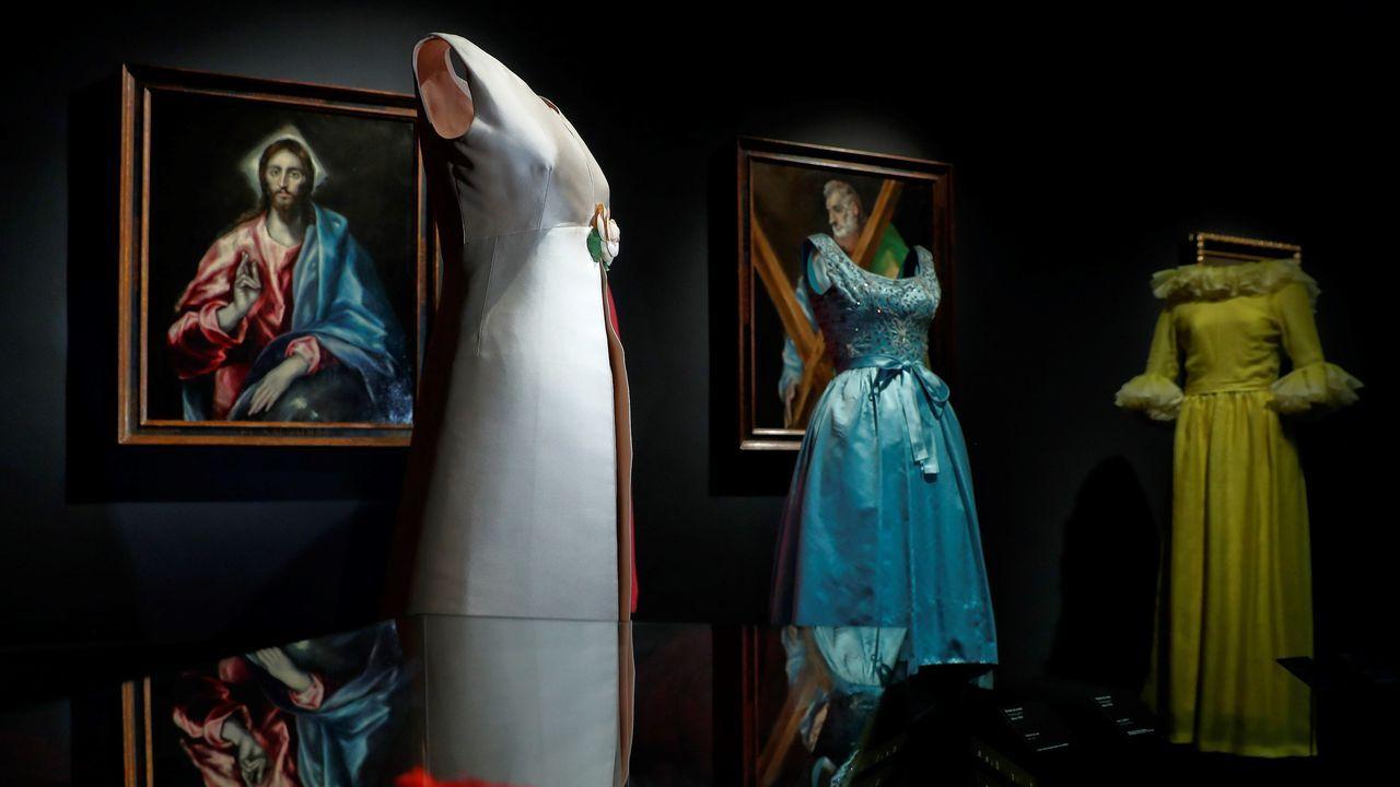 Arte y moda se dan la mano en el Thyssen.Factoría de Alcoa en Avilés