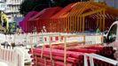 Así es la colorida cubierta de Gran Vía