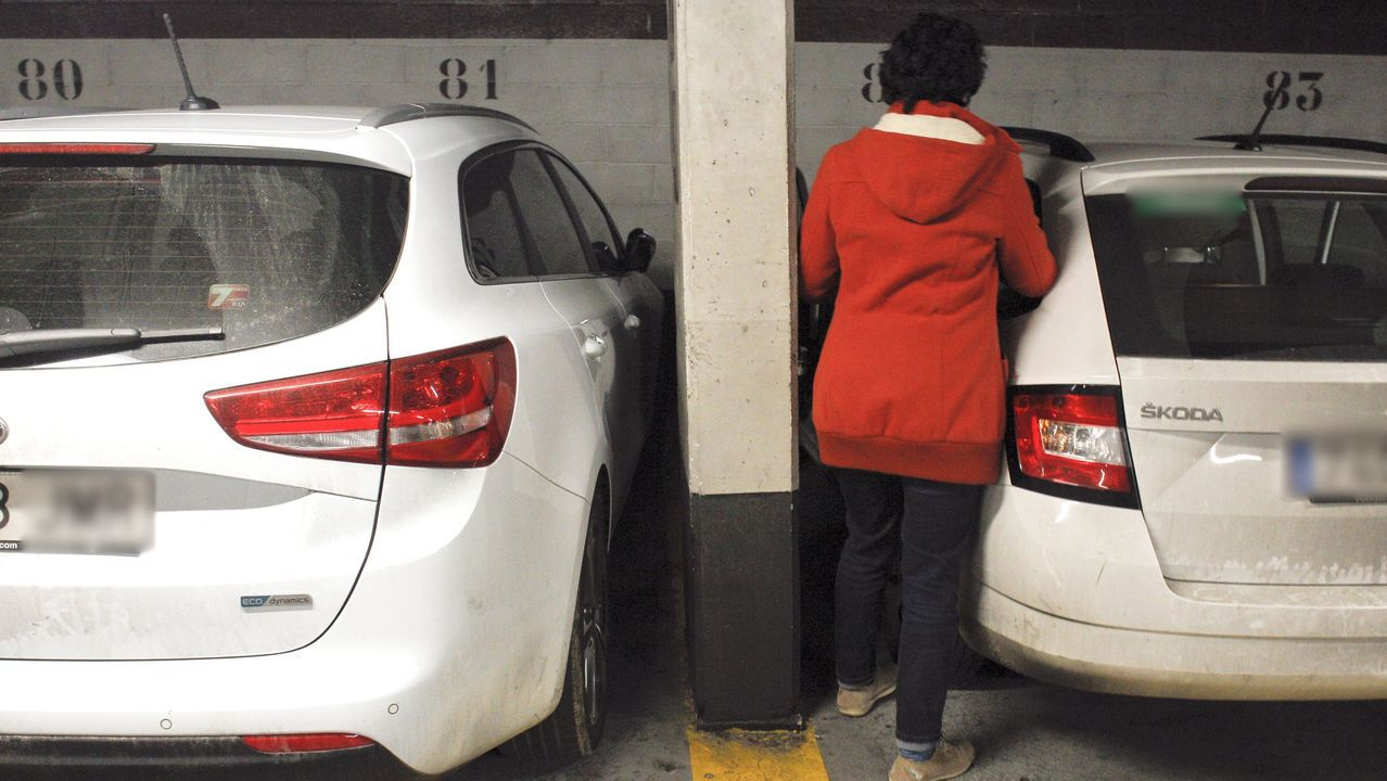 En Santo Domingo existen grandes dificultades para entrar o salir de los vehículos