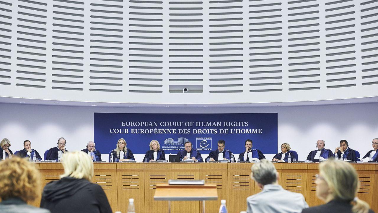 Sala principal del Tribunal Europeo de Derechos Humanos