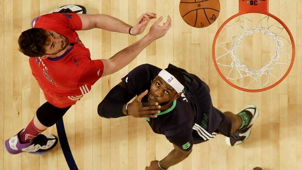 Las estrellas de la NBA brillaron en su noche