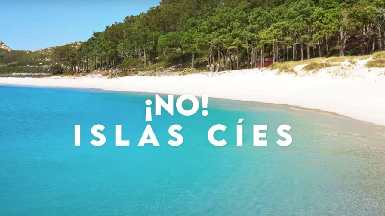 Afluencia de bañistas a los arenales de O Morrazo