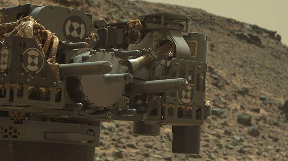 Así era el antiguo océano de Marte