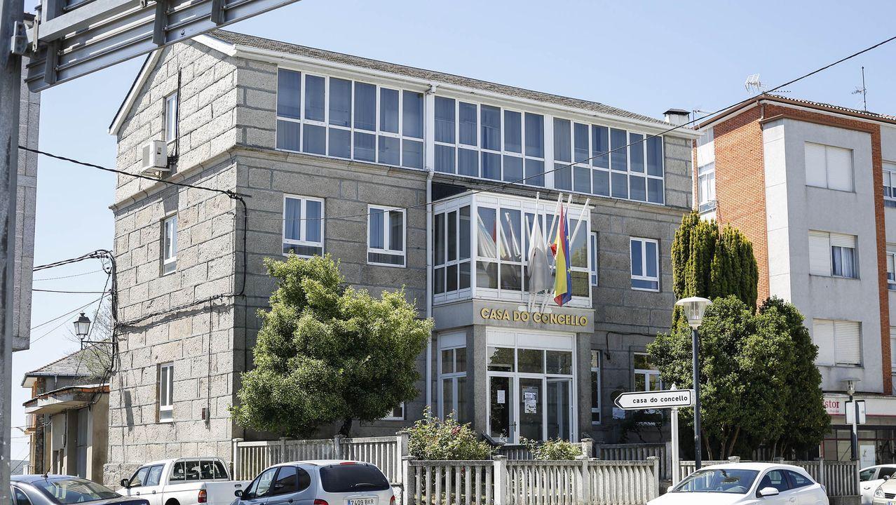 Casa consistorial de A Gudiña